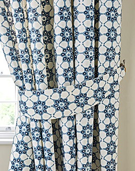 Katie Printed Kitchen Tie Backs