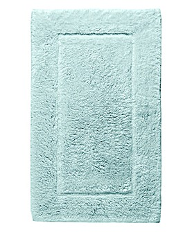 Silky Supersoft Bath Mat Whispering Blue