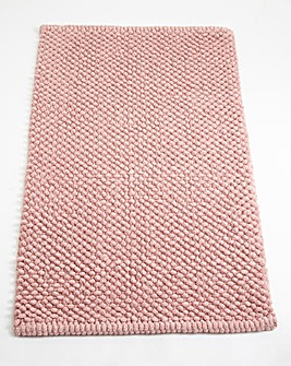 Cotton Bobble Bath Mats - Antique Pink