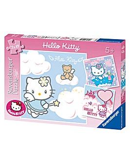 Hello Kitty Jigsaws 3 in a box 49 pc