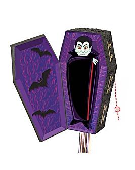 Halloween Vampire Coffin Pinata