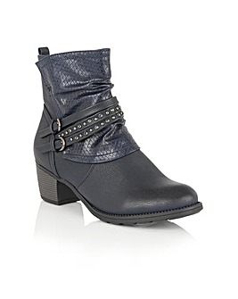 LOTUS FORSYTHIA ANKLE BOOTS