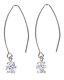 Glass Drop Earring