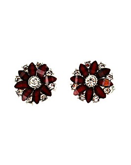Lizzie Lee Flower Clip Earring