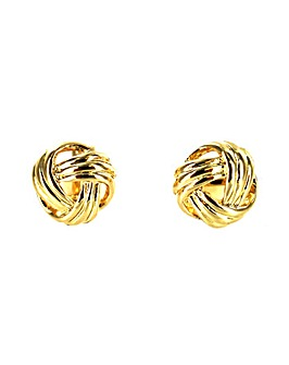 Lizzie Lee Knot Effect Clip Earring