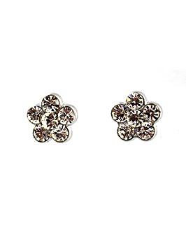Lizzie Lee Diamante Flower Earring