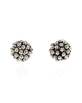 Textured Spherical Earring