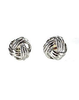 Knot Effect Clip Earring