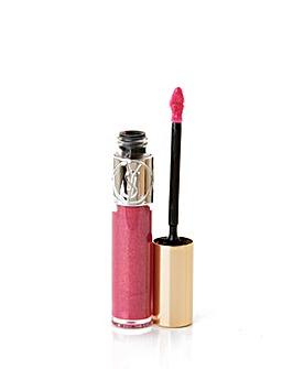 YSL Volupte Lip Gloss-Fuchsia Vermeil