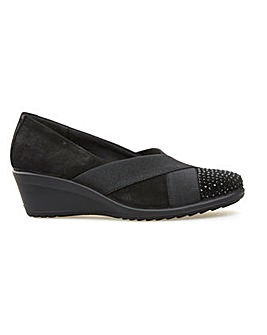 Van Dal Charity - Black Patent Multi