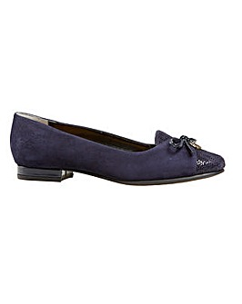 Van Dal Seneca - Midnight Suede Multi