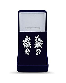 Jon Richard multi cut statement earring
