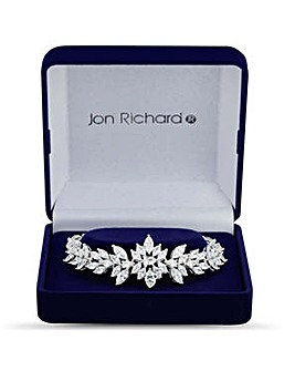 Jon Richard silver statement bangle