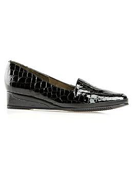Van Dal Verona III - Black Antique Croc