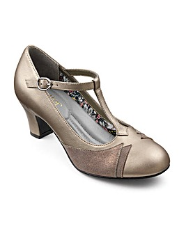Hotter Georgette Elegant T Bar Heel