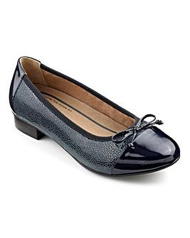 Hotter Trinity Dual Fit Ballerina Shoe
