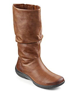 Hotter Mystery Ruched Leg Boot