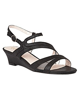 LOTUS DESPONIA WEDGE SANDALS