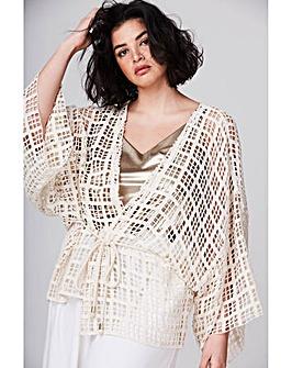 Elvi Crochet Kimono