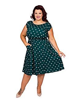 Scarlett & Jo Spot Pocket Dress