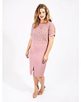Lovedrobe Luxe Embellished Midi Dress