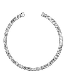 Jon Richard Silver collar necklace