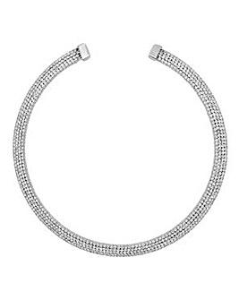 Jon Richard Silver collar necklace