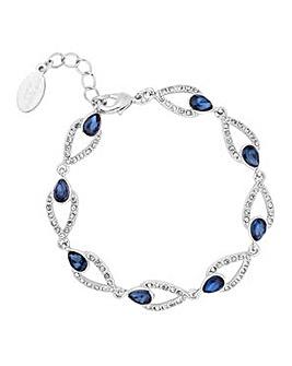Alan Hannah blue peardrop bracelet