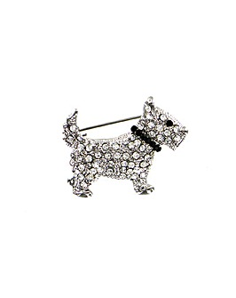 Dog Fashion Brooch