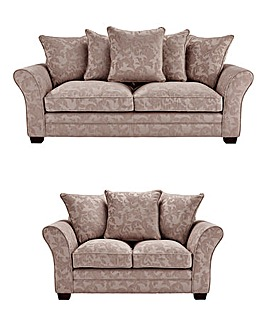 Mayfair Three Seater and Two Seater Sofa