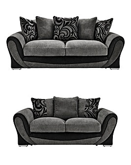 Renata Three plus Two Seater Sofa