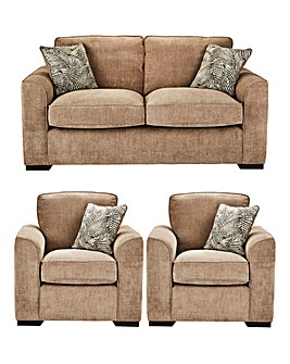 Palma Three Seater plus Two Chairs