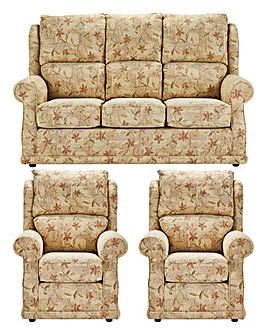 Sherbourne Three Seater plus Two Chairs