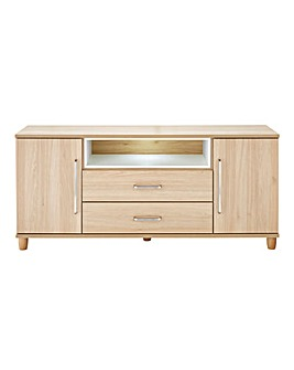 Copenhagen 2 Door 2 Drawer LED Sideboard