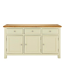 Taunton Oak 3 Door 3 Drawer Sideboard