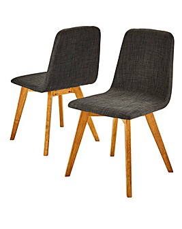 Enzo Pair of Dining Chairs