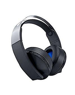 PS4 Platinum Wireless Headset PS4