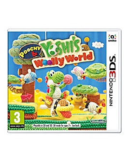 Poochy  Yoshis Woolly World 3DS