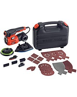 Auto-select 4 In 1 Multi Sander + 19acc