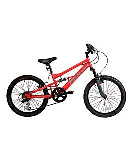 Falcon 20in Oxide Boys Full Susp Bike