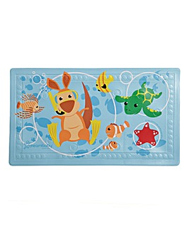Heat Sensor Animal Bath Mat