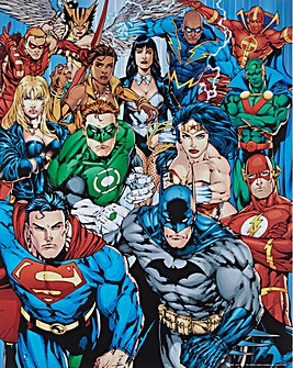 Superheros Poster Board Wall Art