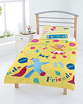 In The Night Garden Personalised Duvet