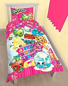 Shopkins Duvet Cover Set Personalised