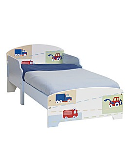 Vehicles Toddler Bed