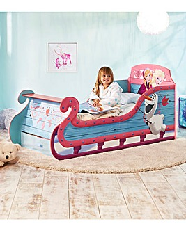 Disney Frozen Sleigh Toddler Bed