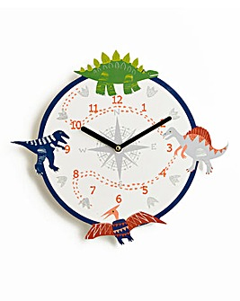 Dino Compass Clock