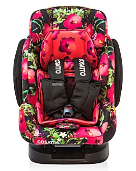Cosatto Hug 123 Car Seat 5 point Tropico