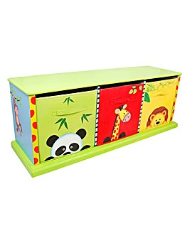 Sunny Safari 3 Bag Storage Cabinet