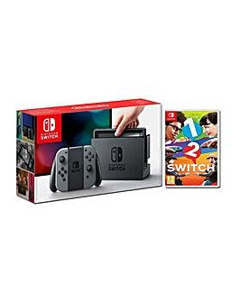 Nintendo Switch Grey Inc 1 - 2 Switch